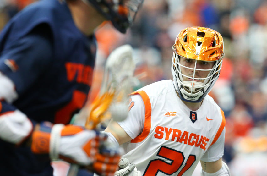 Nick Mellen, Syracuse lacrosse (Photo by Rich Barnes/Getty Images)