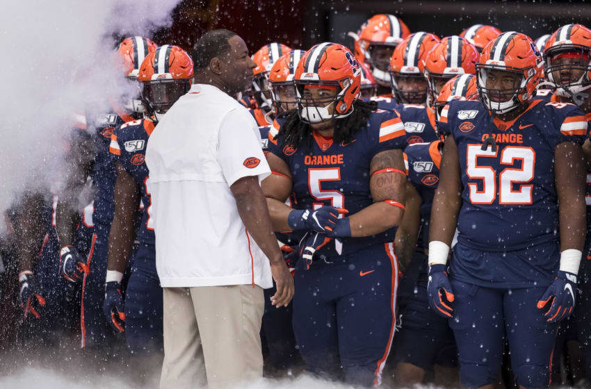 Syracuse football (Photo by Brett Carlsen/Getty Images)