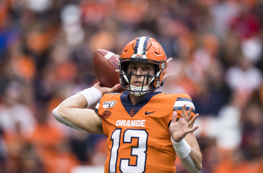 Tommy DeVito, Syracuse football (Photo by Brett Carlsen/Getty Images)