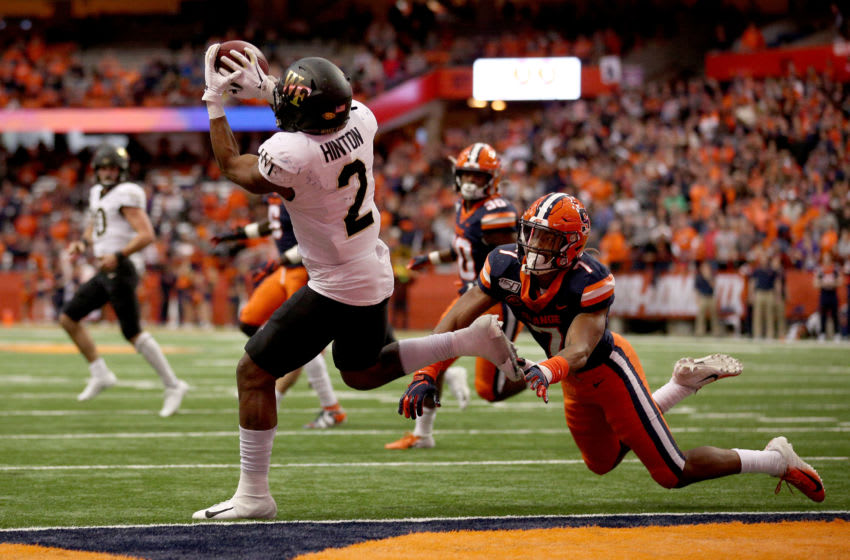 Andre Cisco, Syracuse football (Photo by Bryan M. Bennett/Getty Images)