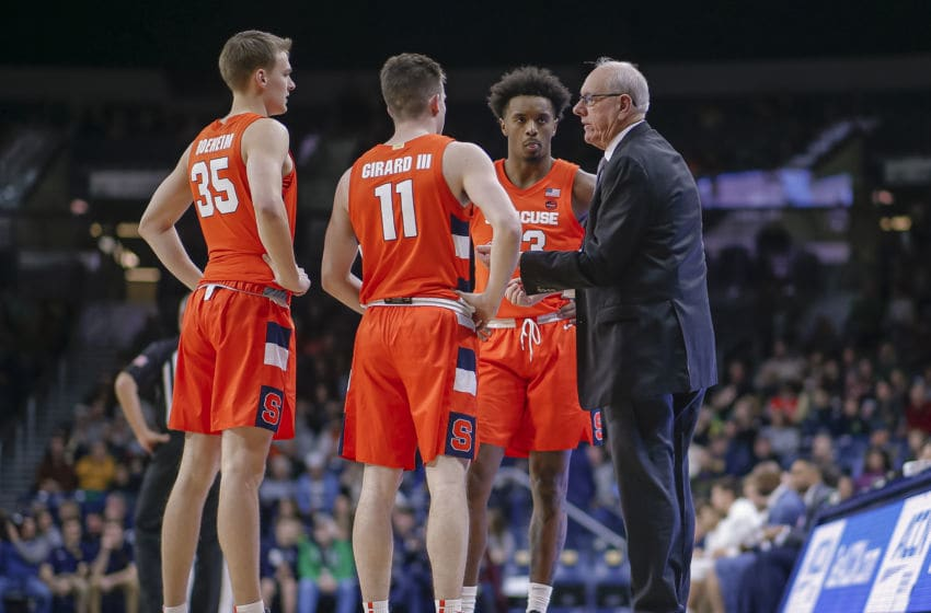 Syracuse basketball (Photo by Michael Hickey/Getty Images)