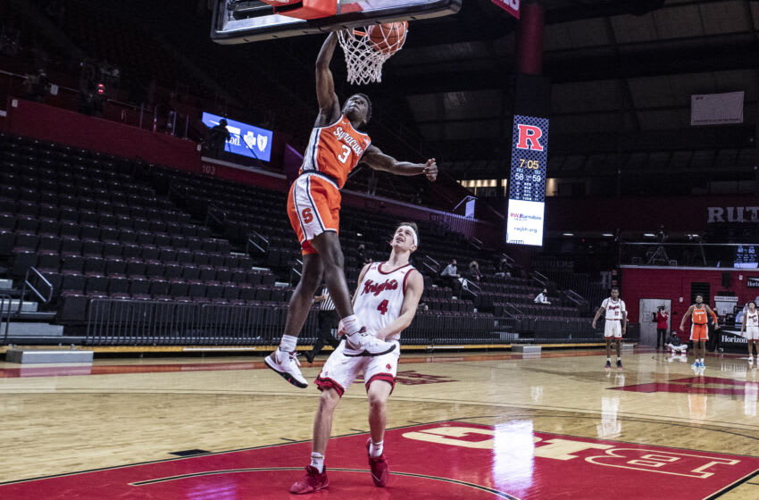 Syracuse basketball (Photo by Benjamin Solomon/Getty Images)