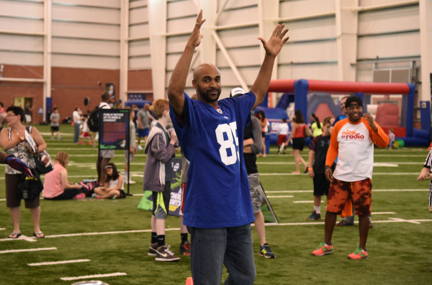 David Tyree, Syracuse football (Photo by Bryan Bedder/Getty Images for Nickelodeon)