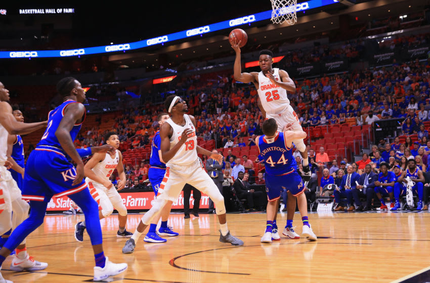 Syracuse basketball (Photo by Chris Trotman/Getty Images)