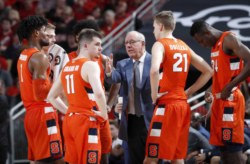 Syracuse basketball (Photo by Joe Robbins/Getty Images)