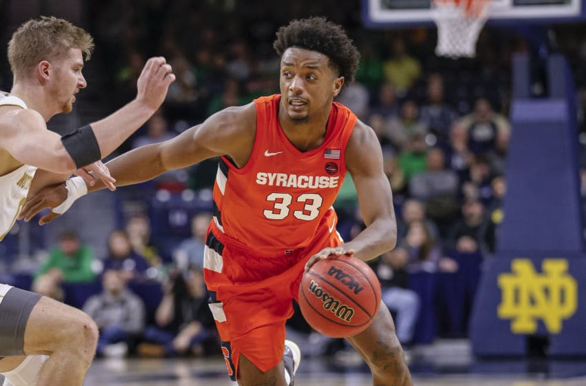 Elijah Hughes, Syracuse basketball (Photo by Michael Hickey/Getty Images)