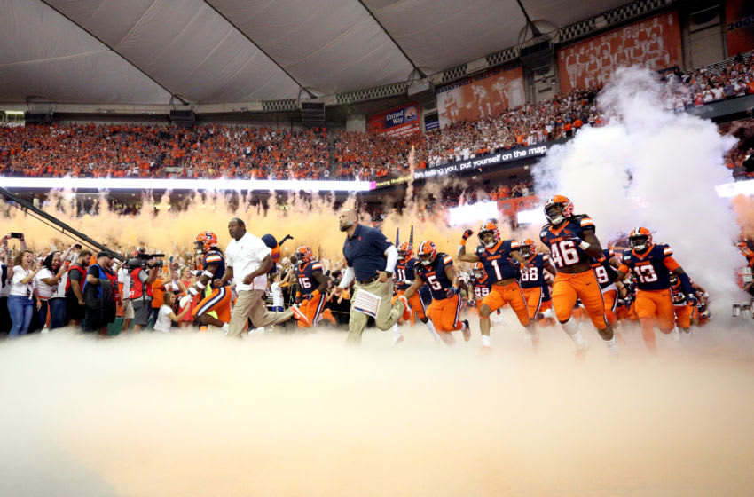 Syracuse football (Photo by Bryan M. Bennett/Getty Images)