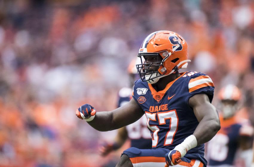 Syracuse football, Kingsley Jonathan (Photo by Brett Carlsen/Getty Images)