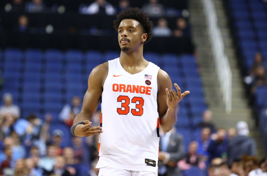 Syracuse basketball, Elijah Hughes (Mandatory Credit: Jeremy Brevard-USA TODAY Sports)