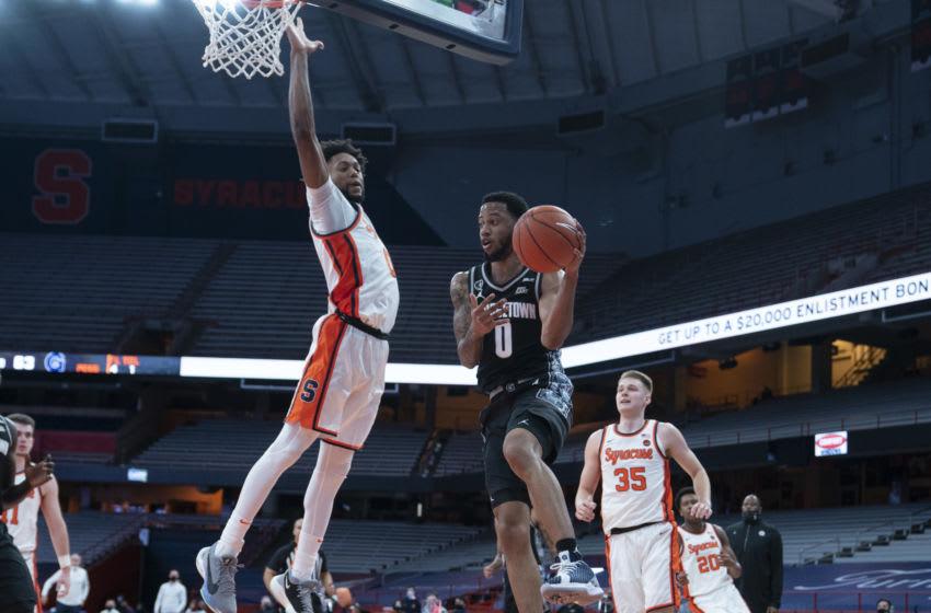 Syracuse basketball (Mandatory Credit: Gregory Fisher-USA TODAY Sports)