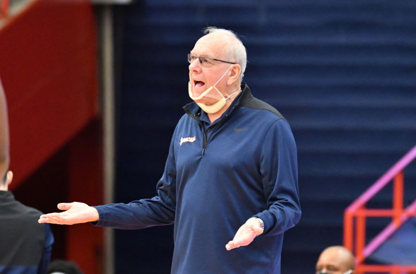 Syracuse basketball (Mandatory Credit: Mark Konezny-USA TODAY Sports)