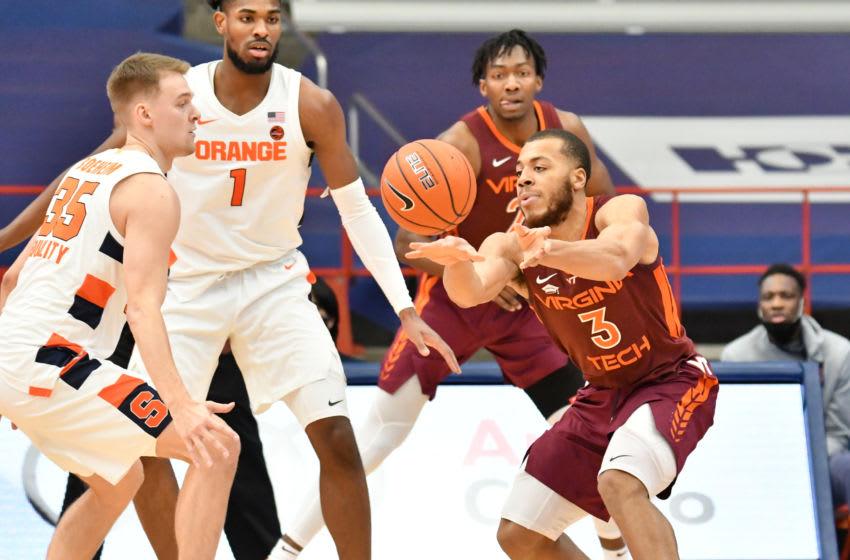 Syracuse basketball, Rowan Brumbaugh (Mandatory Credit: Mark Konezny-USA TODAY Sports)