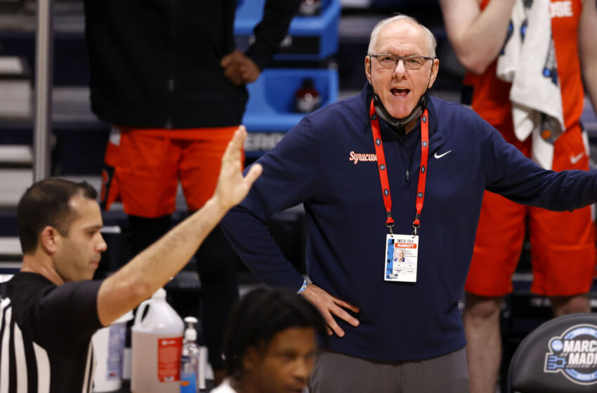 Syracuse basketball, Zion Cruz (Mandatory Credit: Albert Cesare/IndyStar via USA TODAY Sports)