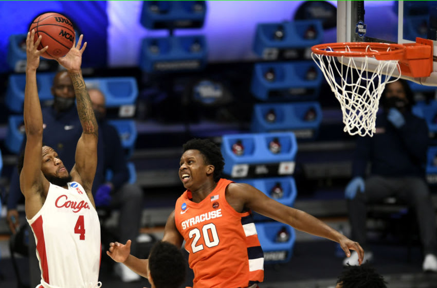 Syracuse basketball (Mandatory Credit: Sam Owens/IndyStar via USA TODAY Sports)