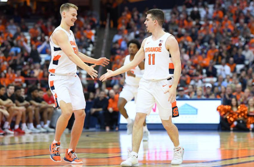 Syracuse basketball (Mandatory Credit: Rich Barnes-USA TODAY Sports)