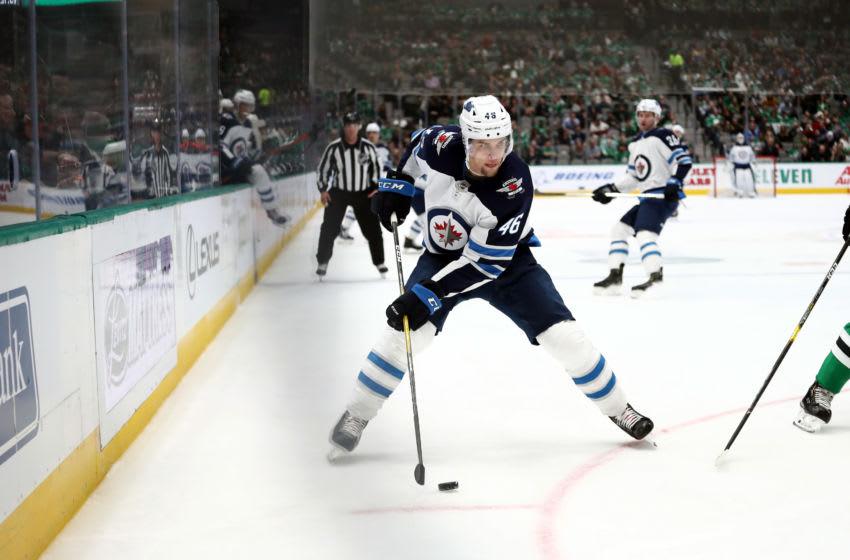 Winnipeg Jets, Joona Luoto #46 (Photo by Ronald Martinez/Getty Images)