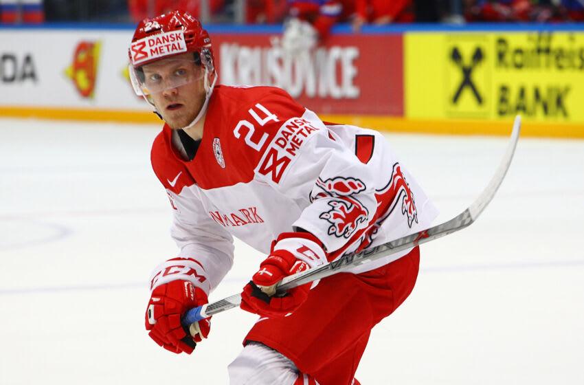Nikolaj Ehlers #24, Denmark, Winnipeg Jets (Photo by Anna Sergeeva/Getty Images)
