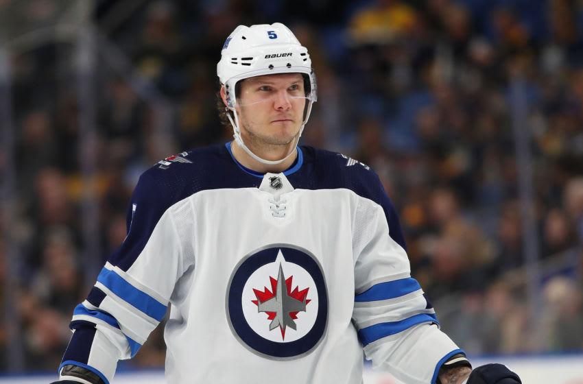Winnipeg Jets, Dmitry Kulikov #5 (Photo by Kevin Hoffman/Getty Images)