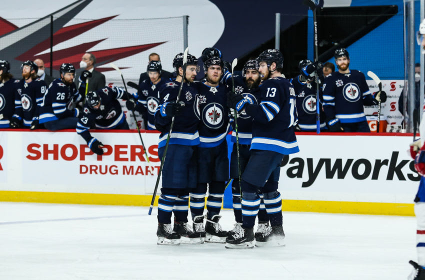 Winnipeg Jets, Nikolaj Ehlers (27) Mandatory Credit: Terrence Lee-USA TODAY Sports