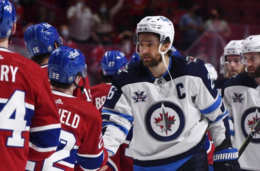 Winnipeg Jets, Blake Wheeler (26) Mandatory Credit: Eric Bolte-USA TODAY Sports