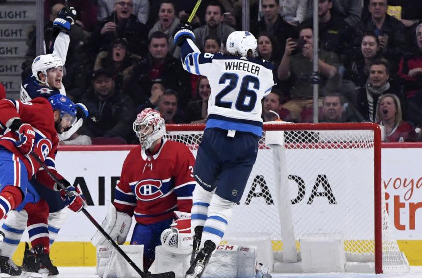Winnipeg Jets, Blake Wheeler #26, (Mandatory Credit: Eric Bolte-USA TODAY Sports)