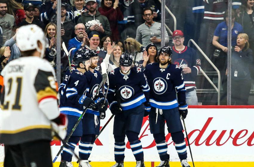 Mar 6, 2020; Winnipeg Jets Patrik Laine (29) Mandatory Credit: Terrence Lee-USA TODAY Sports