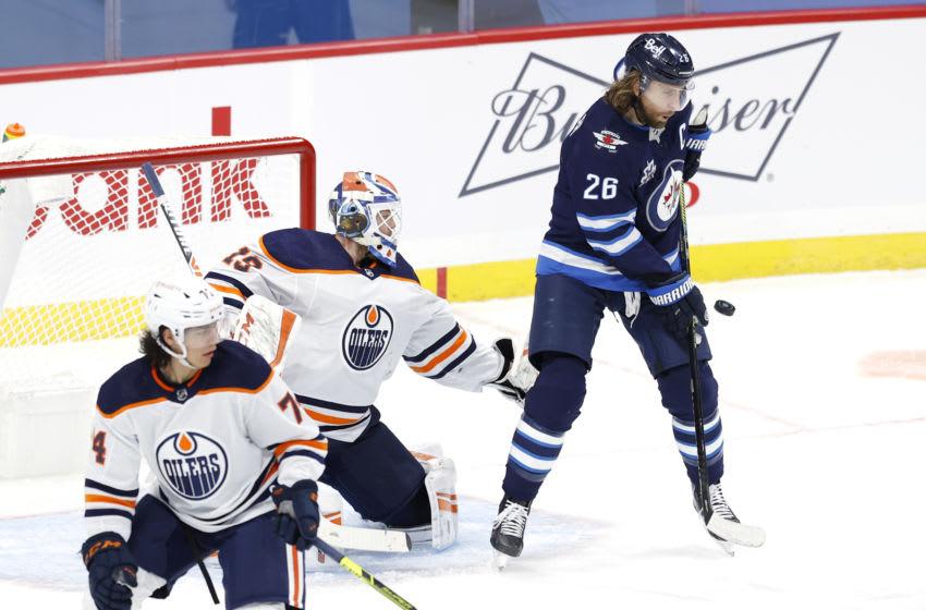 Winnipeg Jets, Blake Wheeler #26, (Mandatory Credit: James Carey Lauder-USA TODAY Sports)