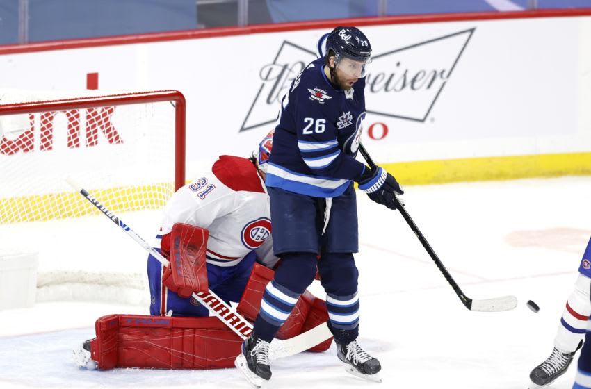 Winnipeg Jets,Blake Wheeler #26, (Mandatory Credit: James Carey Lauder-USA TODAY Sports)