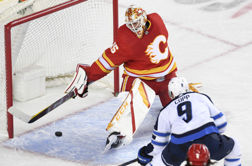 Winnipeg Jets, Andrew Copp, #9, (Mandatory Credit: Candice Ward-USA TODAY Sports)