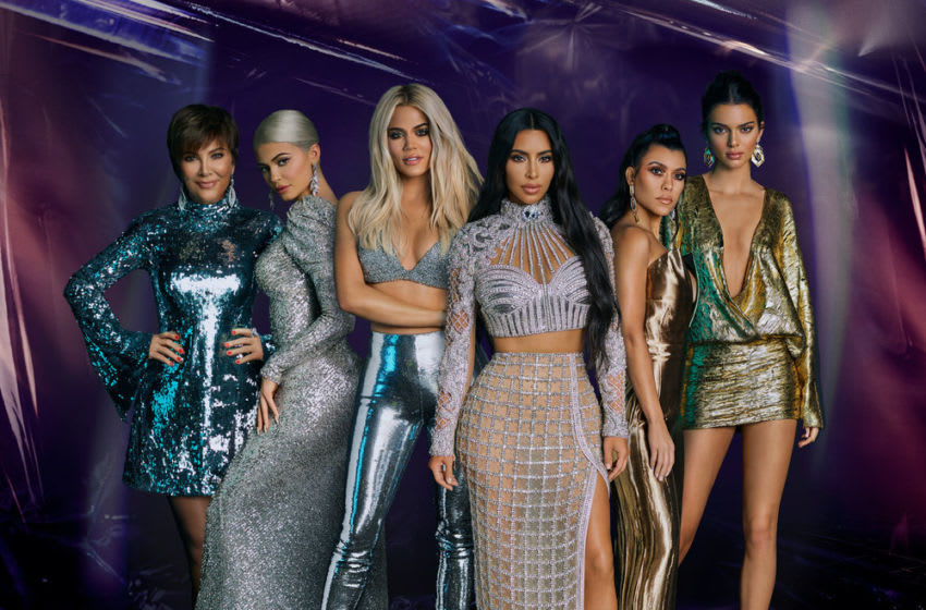 Keeping Up with the Kardashians Season: 16 -- Pictured: The Kardashians -- (Photo by: Miller Mobley/E! Entertainment)