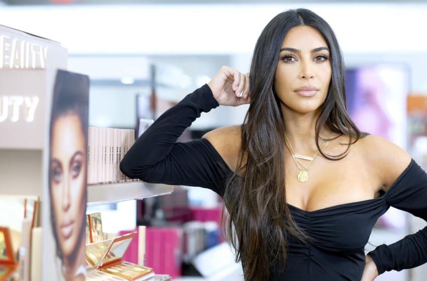 Kim Kardashian attends KKW Beauty launch (Photo by Dimitrios Kambouris/Getty Images for ULTA Beauty / KKW Beauty)