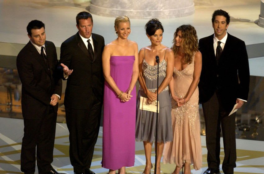 The Friends cast (Photo by Vince Bucci/Getty Images)