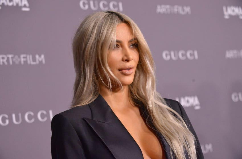 LOS ANGELES, CA - NOVEMBER 04: Kim Kardashian West attends the 2017 LACMA Art + Film Gala Honoring Mark Bradford and George Lucas presented by Gucci at LACMA on November 4, 2017 in Los Angeles, California. (Photo by Charley Gallay/Getty Images for LACMA)