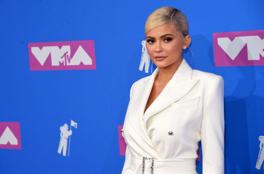 Kylie Jenner attends the MTV Video Music Awards (Photo by Jamie McCarthy/Getty Images)