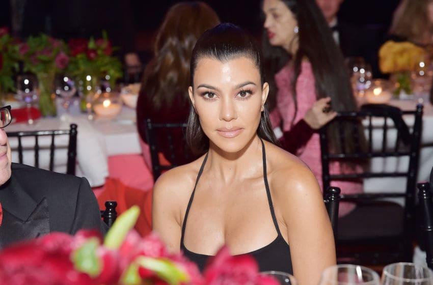 Kourtney Kardashian attends LACMA Art + Film Gala (Photo by Stefanie Keenan/Getty Images for LACMA)