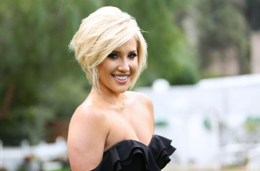 UNIVERSAL CITY, CALIFORNIA - MARCH 27: Reality TV Personality Savannah Chrisley visits Hallmark's