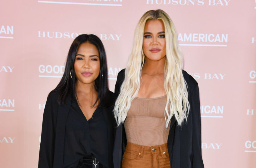 Hudson's Bay Co-Founders Emma Grede and Khloe Kardashian (Photo by George Pimentel/Getty Images)