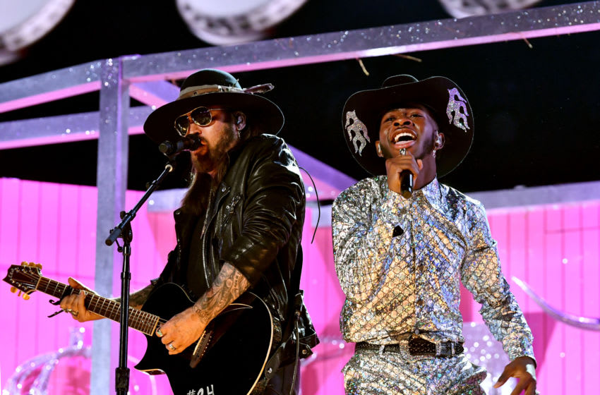 Billy Ray Cyrus and Lil Nas X perform