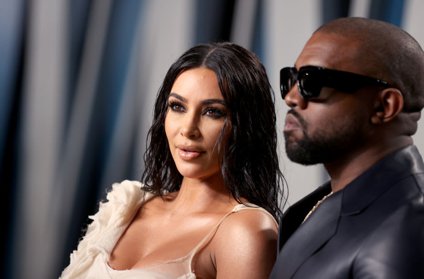 Kim Kardashian West and Kanye West (Photo by Rich Fury/VF20/Getty Images for Vanity Fair)