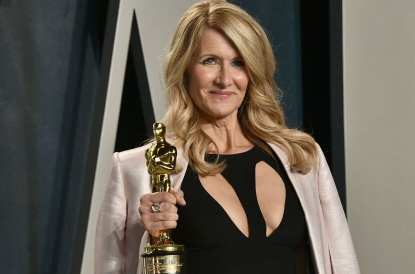 BEVERLY HILLS, CALIFORNIA - FEBRUARY 09: Laura Dern attends the 2020 Vanity Fair Oscar Party hosted by Radhika Jones at Wallis Annenberg Center for the Performing Arts on February 09, 2020 in Beverly Hills, California. (Photo by Frazer Harrison/Getty Images)