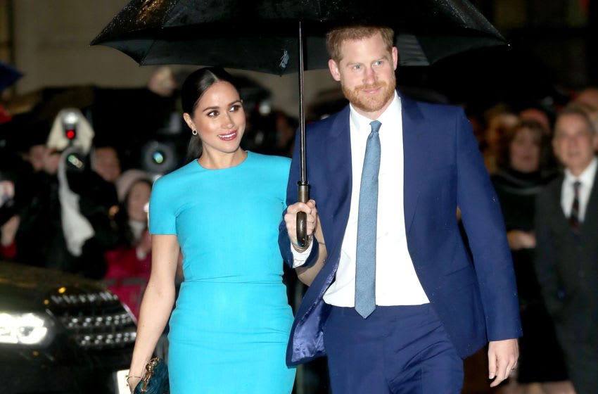 Prince Harry and Meghan Markle attend The Endeavour Fund Awards (Photo by Chris Jackson/Getty Images)