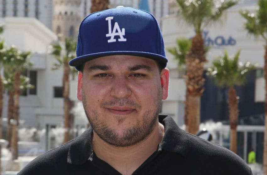 Rob Kardashian attends the Sky Beach Club (Photo by Gabe Ginsberg/Getty Images)