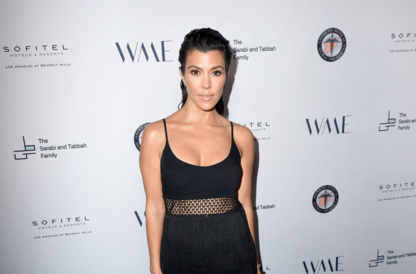 Kourtney Kardashian attends SAMS Benefit for Syrian Refugees (Photo by Vivien Killilea/Getty Images for The Syrian American Medical Society (SAMS))