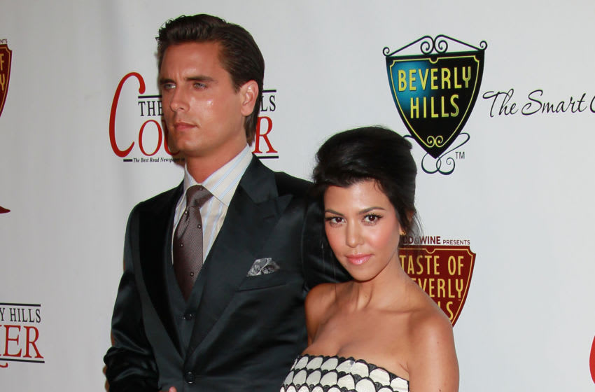 BEVERLY HILLS, CA - SEPTEMBER 02: Television personalities Scott Disick (L) and Kourtney Kardashian attend The Taste of Beverly Hills wine & food festival opening night on September 2, 2010 in Beverly Hills, California. (Photo by David Livingston/Getty Images)