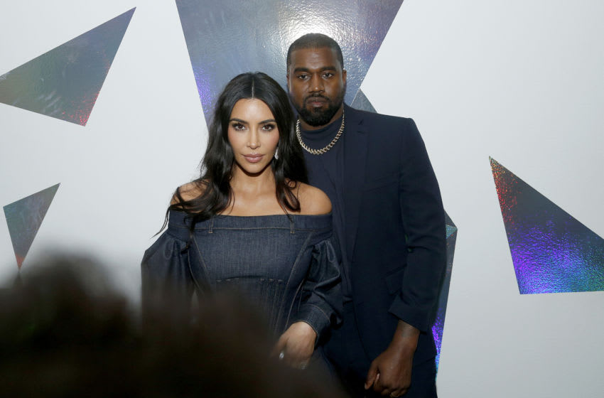 Kim Kardashian West and Kanye West (Photo by Lars Niki/Getty Images for WSJ. Magazine Innovators Awards )