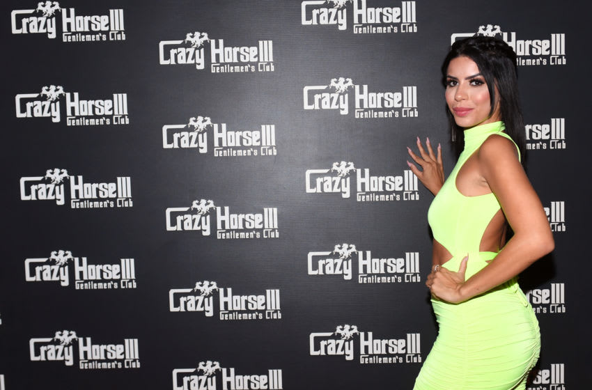 LAS VEGAS, NEVADA - AUGUST 17: Television personality Larissa Dos Santos Lima celebrates her birthday at the Crazy Horse 3 Gentlemen's Club on August 17, 2019 in Las Vegas, Nevada. (Photo by Bryan Steffy/Getty Images for Crazy Horse 3)