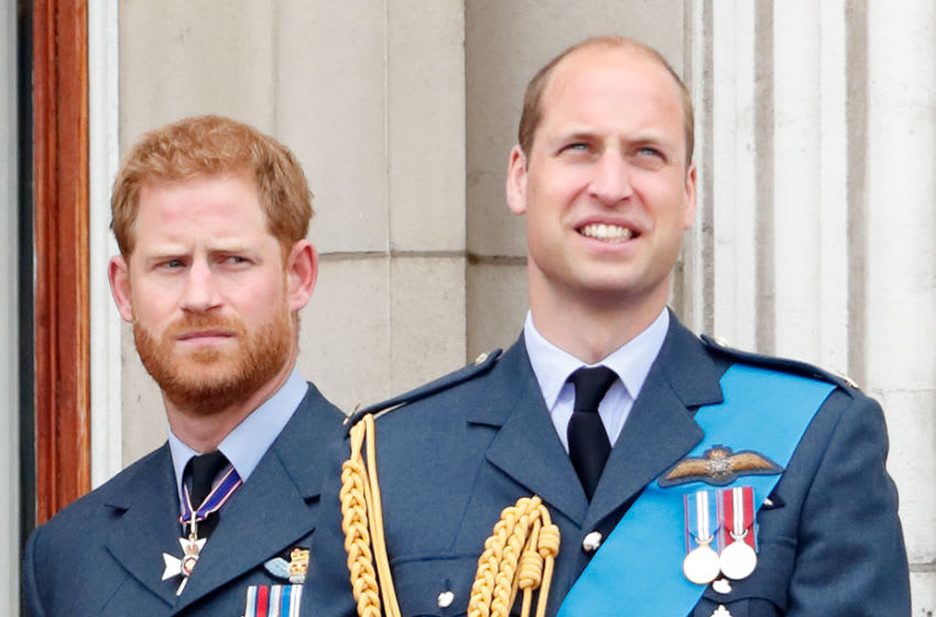 Prince Harry, Duke of Sussex and Prince William (Photo by Max Mumby/Indigo/Getty Images)