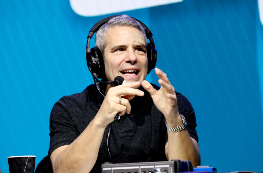 MIAMI, FLORIDA - JANUARY 31: SiriusXM host Andy Cohen speaks onstage during day 3 of SiriusXM at Super Bowl LIV on January 31, 2020 in Miami, Florida. (Photo by Cindy Ord/Getty Images for SiriusXM )
