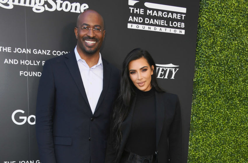 WEST HOLLYWOOD, CA - NOVEMBER 14: Van Jones and Kim Kardashian attend Variety And Rolling Stone Co-Host 1st Annual Criminal Justice Reform Summit at 1 Hotel West Hollywood on November 14, 2018 in West Hollywood, California. (Photo by Jon Kopaloff/Getty Images,)
