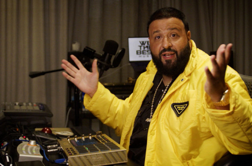 UNSPECIFIED - UNSPECIFIED: In this screengrab released on November 08, DJ Khaled performs at the MTV EMA's 2020. The MTV EMA's aired on November 08, 2020. (Courtesy of MTV via Getty Images)
